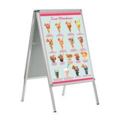 Wundertüten und Eis zum Mitnehmen, Banner DIN A 1, für Kundenstopper