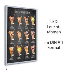 LED-Rahmen mit Motiv Wundertüten